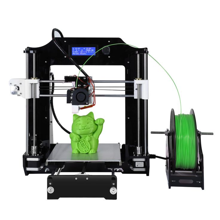 Newest FDM Printing Technology Acrylic+Metal 3D Printer High Precision Large Printing Size i3 High Quality 3D printer Kits