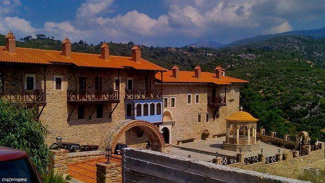 Megali Panagia Monastery, Samos - Greece So peaceful!
