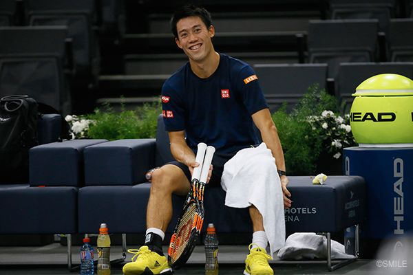 Kei Nishikori- up and rising tennis player