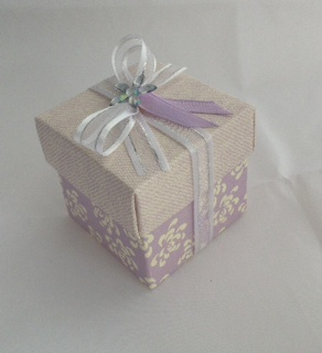 Vintage Purple Box