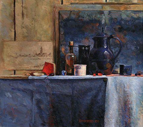 Ben Snijders - stillevens, portretten, naakten (still lifes, portraits, nudes)