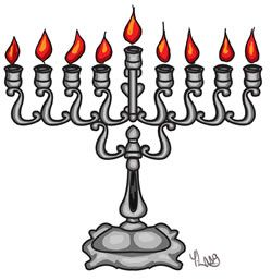how to light a menorah. Chanukah is dec 20-28th this year.