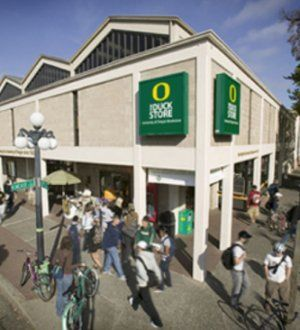 "University of Oregon Bookstore.  We had a great time supporting the ""Proudly Oregon"" event Feb. 27th."