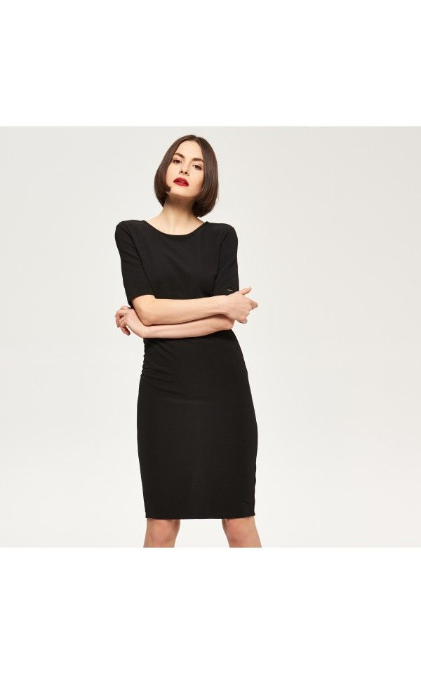 Black dress, NEW COLLECTION SK 16, black, RESERVED