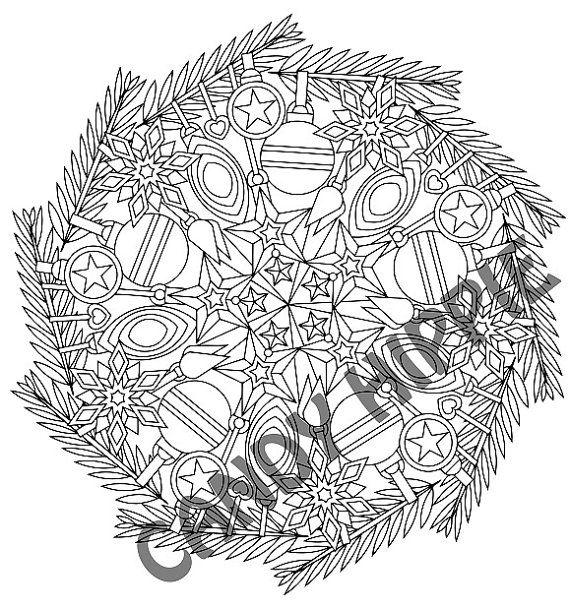 tree mandala coloring pages - photo#32