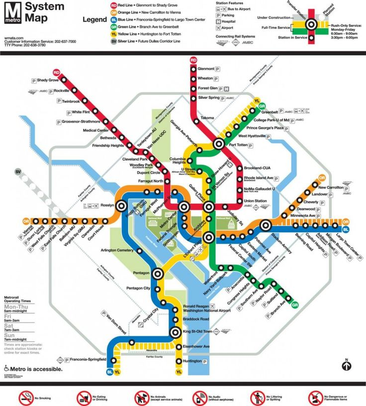 Tips for riding the metro in Washington DC