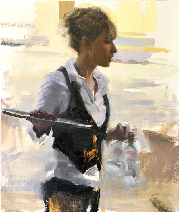 Aldo Balding, Figurative Artist, Waterhouse Gallery, Figurative Painter, Original Oil, European Figure Painter, Portrait Artist,