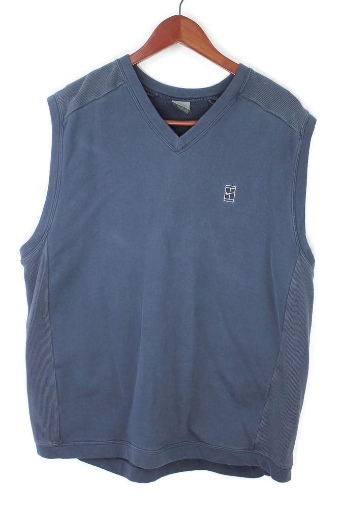 Nike Mens Sleeveless V Neck Knit Pullover Sweater Vest Extra ...