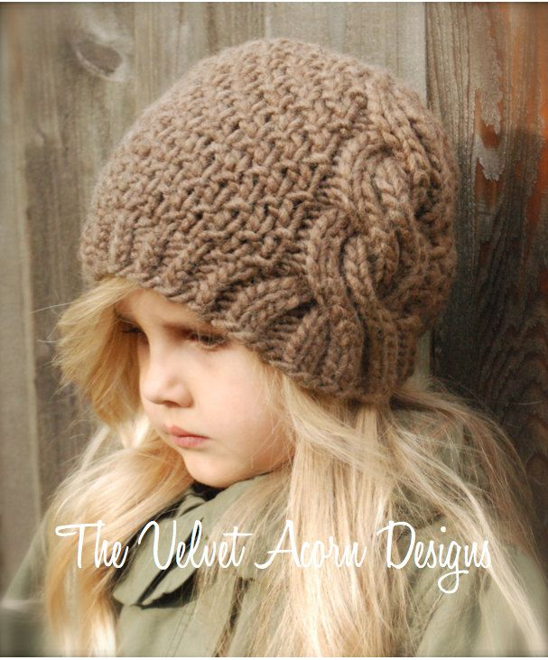 KNITTING+PATTERN++Greyre+Cloche'+Toddler+Child+by+Thevelvetacorn,+$5.50