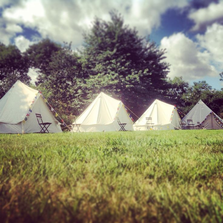 Bell Tent glamping in Yorkshire www.glampit.com