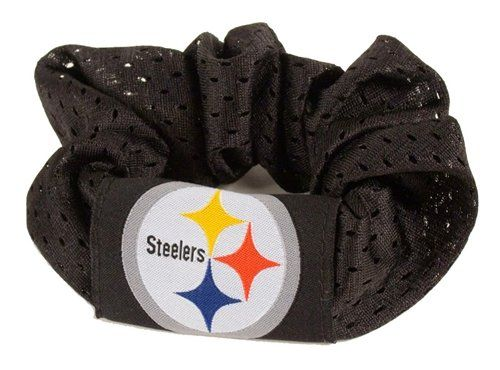 Pittsburgh Steelers Hair Twist Ponytail Holder  Black * You can get more details by clicking on the image.