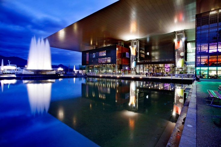 Lucerne Culture and Congress Centre. Lucern, Switzerland. Architect Jean Nouvel