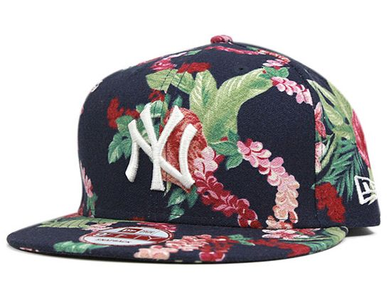 5284283269563 New York Yankees Floral 9Fifty Snapback Cap by NEW ERA x MLB ...