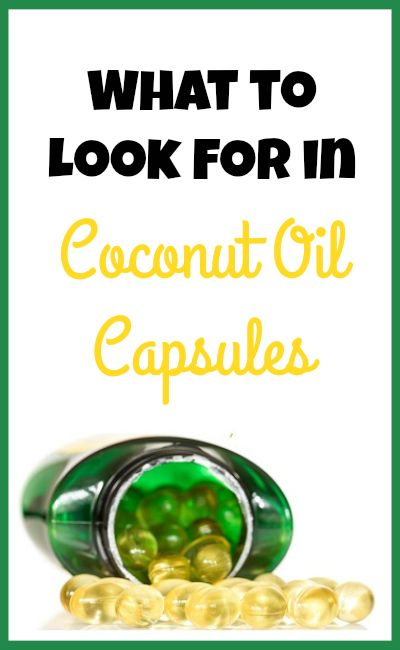 What to Look for in Coconut Oil Capsules