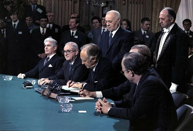 This Day in #History: On January 23, 1973, US President Richard Nixon went on air to announce a peace accord with #Vietnam, known as the Paris Peace Accords (image source: wikipedia)