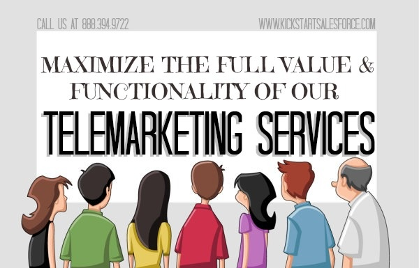 Maximize the full value and functionality of our #telemarketing services