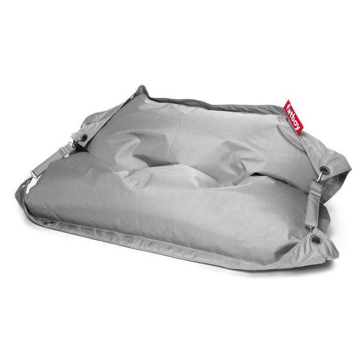 Fatboy Buggle-Up 6 ft. Extra Large Bean Bag Light Grey