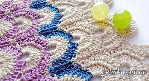 143 besten Crochet Ripple Stitch Bilder auf Pinterest | Wellen ...