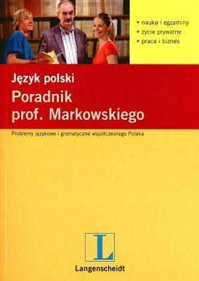 Okładka książki Język Polski. Poradnik Prof. Markowskiego