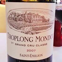 Chateau Troplong Mondot 2007 #wine #bordeaux #redwine #troplongmondot
