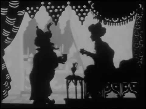 KALIF STORCH - Scherenschnittfilm von Lotte Reiniger. Meinen Ersten sah ich mit 7 Jahren - seitdem liebe ich sie. Still magic!!!