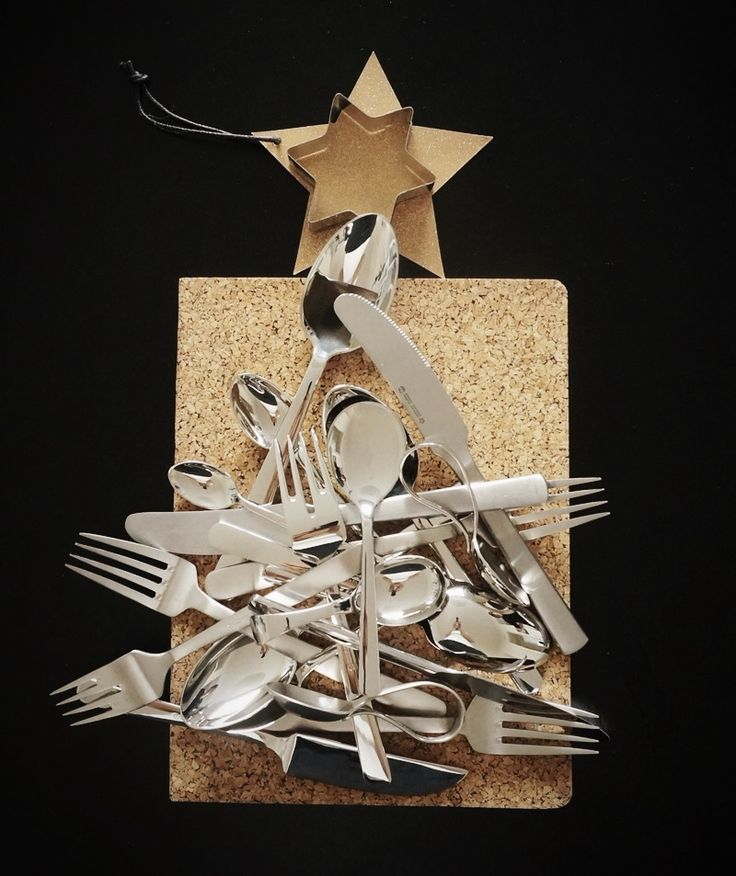 Kay Bojesen Grand Prix cutlery Christmas tree. Kay Bojesen Grand Prix cutlery / flatware. Danish Design.