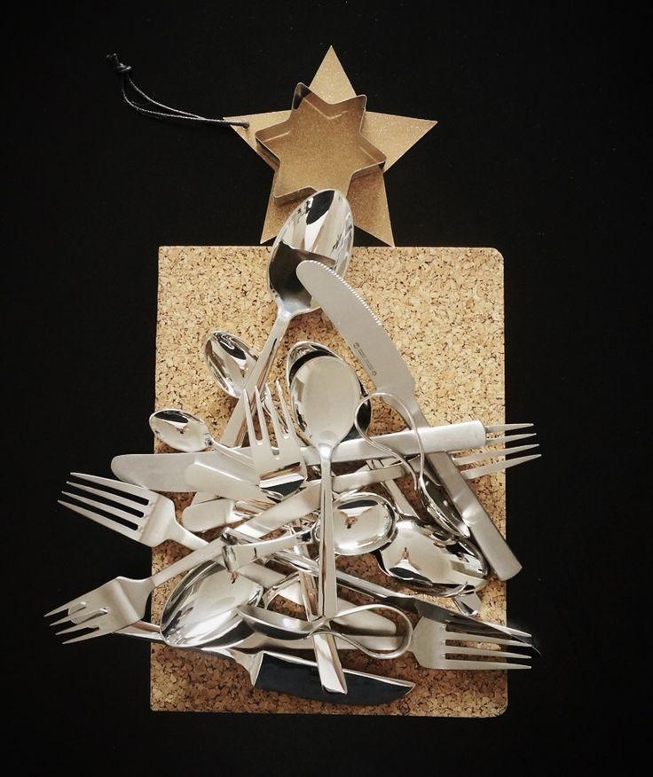 Kay Bojesen Grand Prix cutlery Christmas tree. Kay Bojesen Grand Prix cutlery / flatware. Danish Design.