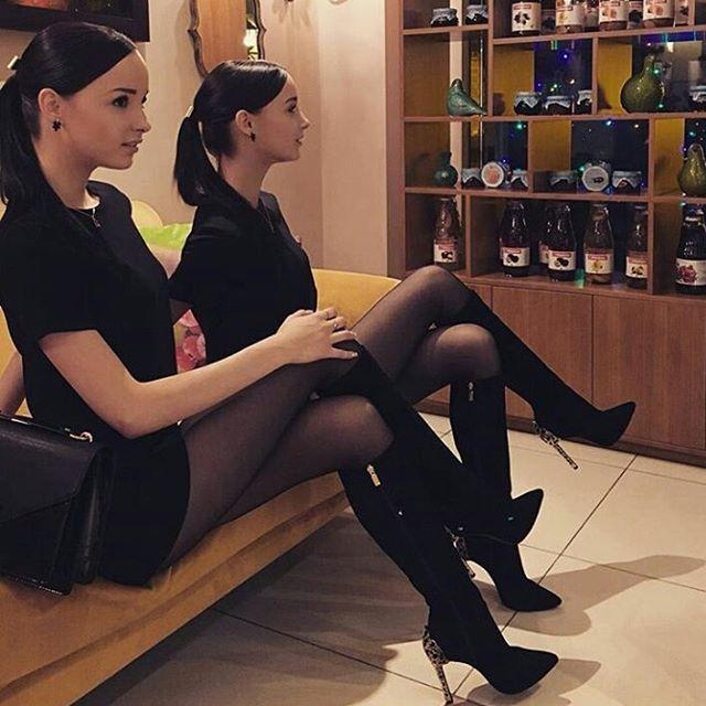 Nylons | Strumpfhose, Oberschenkel hohe stiefel, Schwarze