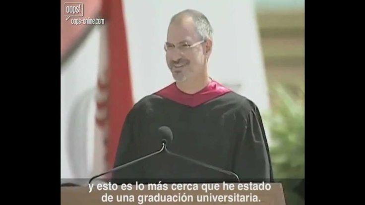 [HD] Discurso De Steve Jobs En Stanford(Subtitulado En Español) Completo