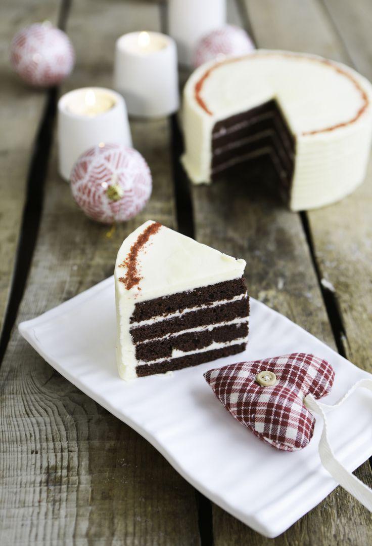 Red velvet kakku Iloleipurin tapaan