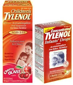 Never give the babies the Tylenol dosage for babies for more than four times a day