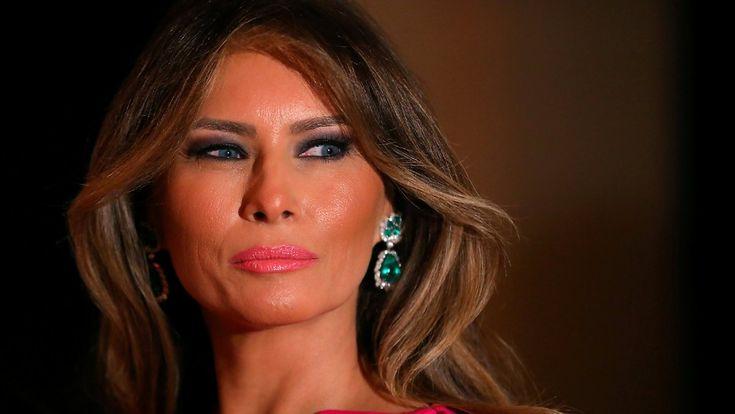 First Lady als Escort-Dame?: Melania Trump verklagt Zeitung wegen Verleumdung