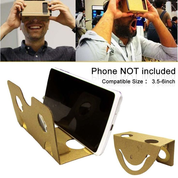 DIY Google Cardboard 3D Glass VR Virtual Reality For iPhone 6 Samsung S7 HTC T4 | eBay