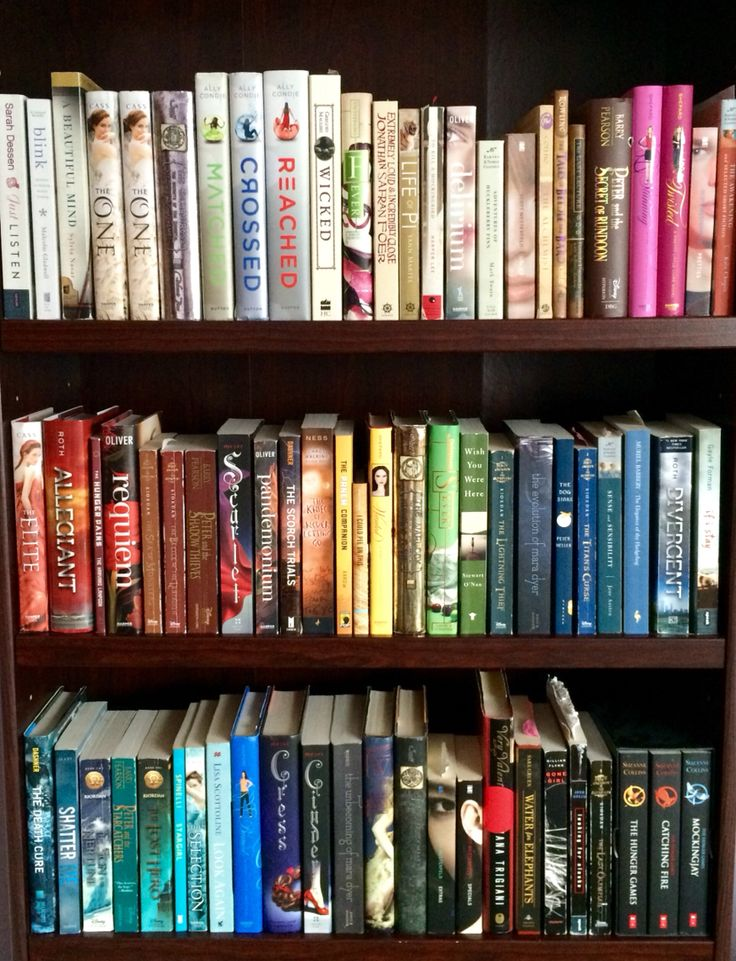 Rainbow Bookshelf B O O K S Pinterest Best Books And