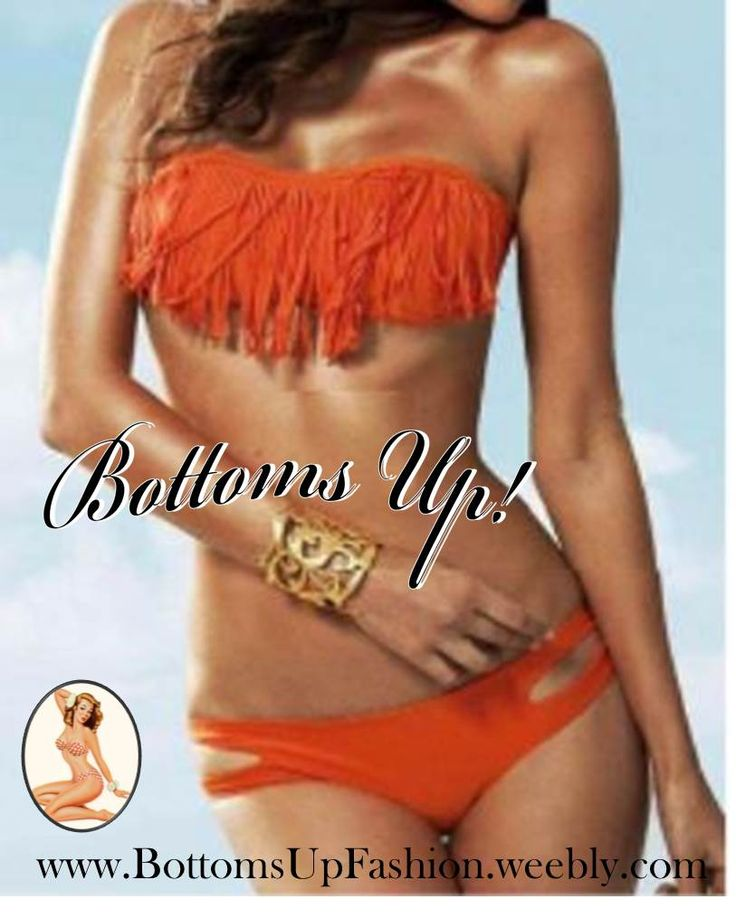 Strapless Tassle Bikini– ORANGE Order Code: BU1001OR Sizes: S / M / L  Price: R280.00/set Stock Status: Temporarily on order basis only: Allow 2-6weeks for delivery anywhere in SA Email: bottoms-up-@hotmail.com for orders/enquiries
