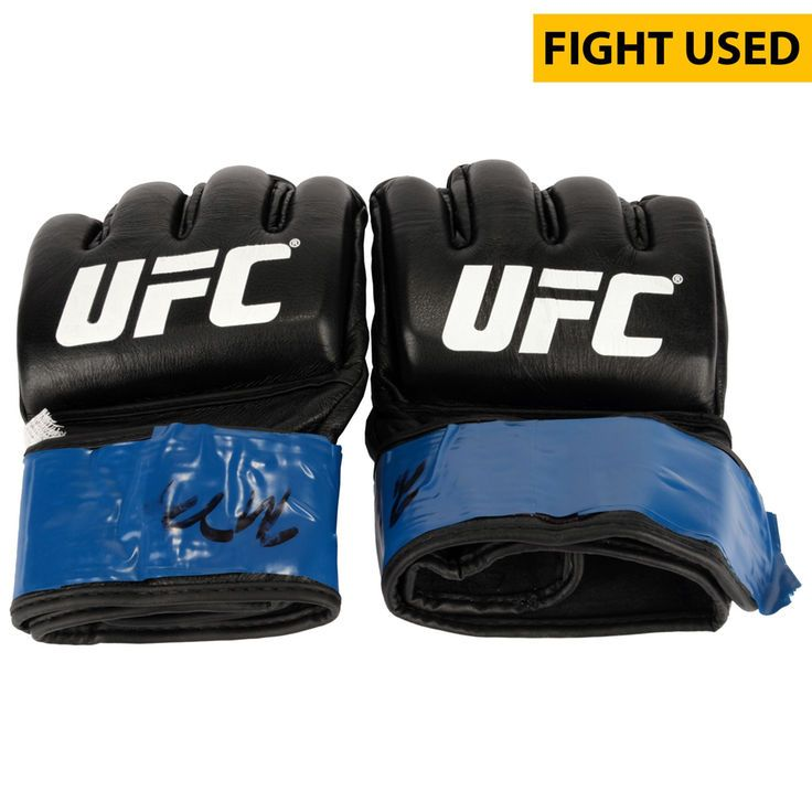 Paul Felder Ultimate Fighting Championship Fanatics Authentic UFC on FOX Dillashaw vs. Barao 2 Fight-Worn Gloves - Fought Edson Barboza in a Lightweight Bout - $499.99
