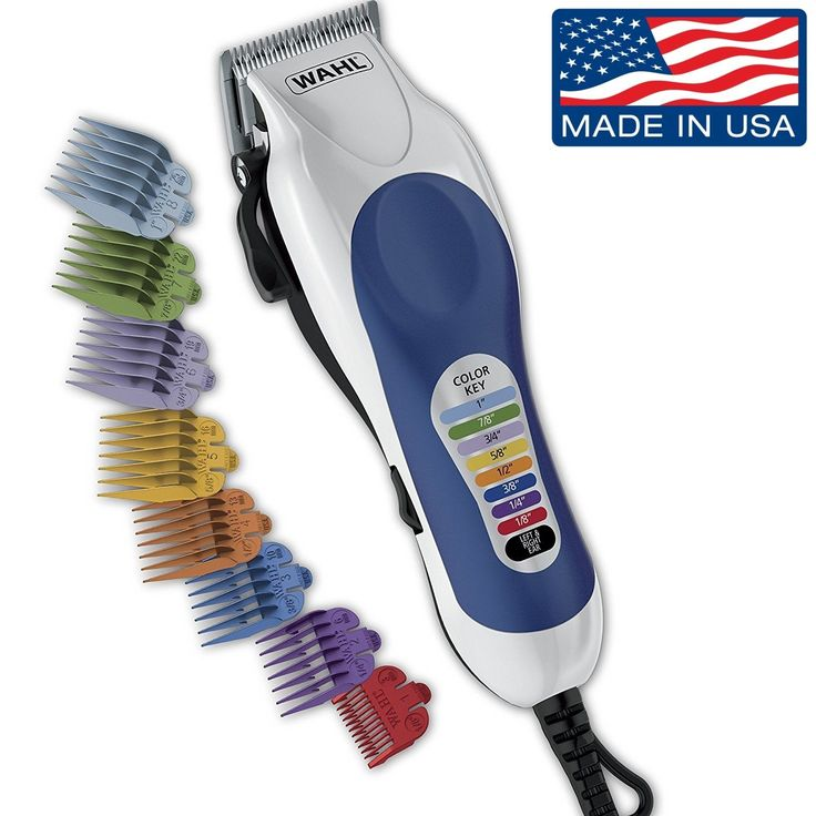 Wahl Professional Hair Cut Trimmer 20 Piece Kit Clippers Haircut Barber Set Pro. The Color Pro color coded haircutting kit includes a complete set of color coded combs, haircutting accessories, and full color instructions with step-by-step guidance for an easy and great looking home haircut. | eBay!