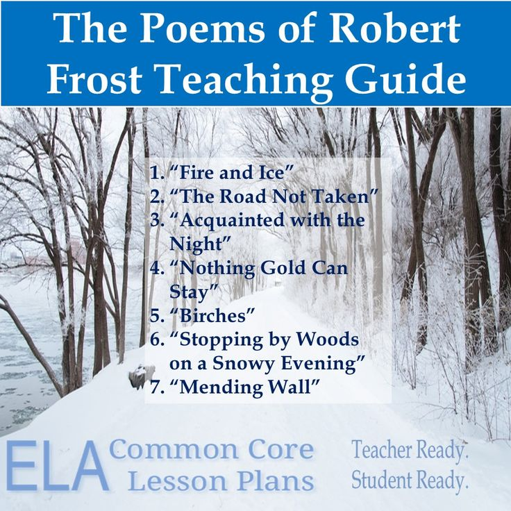 robert frost ideas and language These robert frost poems are very difficult for students to get the theme i rely on a lot of scaffolding to help them see the deeper meanings to the poems i mention this in one of the poem's explanations that i look at poetry like the eight layer dip at friday's.