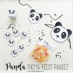 Panda thema feest pakket..   bijdeb   Bloglovin'