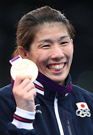 吉田沙保里 Saori Yoshida [Wrestling Women's 55kg Freestyle] Gold