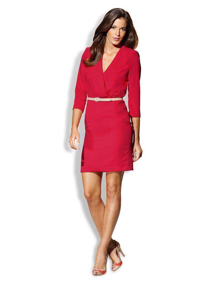 Robe de cocktail pour mariage rouge robe pour femme