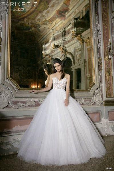 Tarik Ediz White Bridal Collection Available In Glasgow