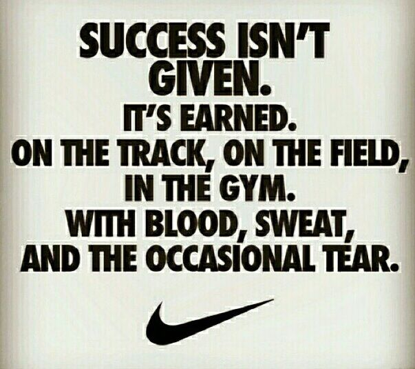 Earned. By all of these.