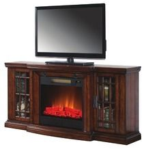 """60"""" Low Profile Electric Fireplace with Bluetooth® Speakers from Big Lots $449.00 (10% Off) -"""