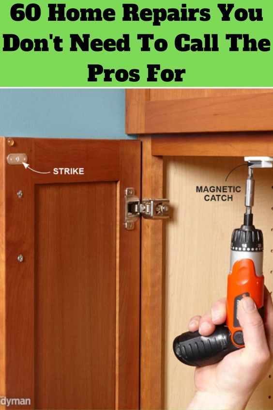 60 Home Repairs You Don T Need To Call The Pros For In 2020 Repair Home Repairs Dishwasher Stinks