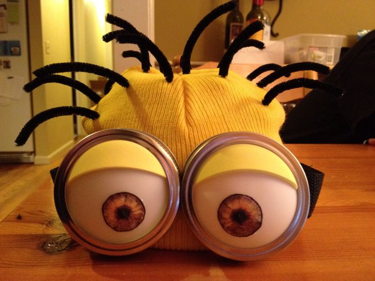 DIY Minion Costume | Costume ideas, Purple minions and ...