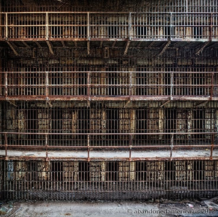 The Old Essex County Jail, Newark NJ - Matthew Christopher's Abandoned America