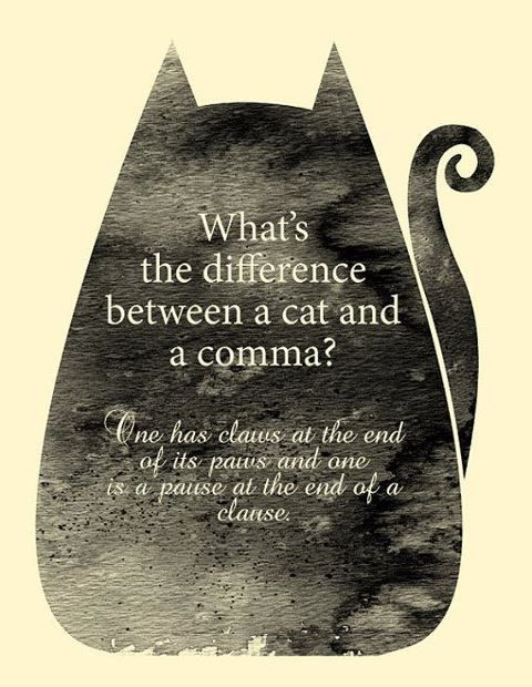 In honour of National Punctuation Day!