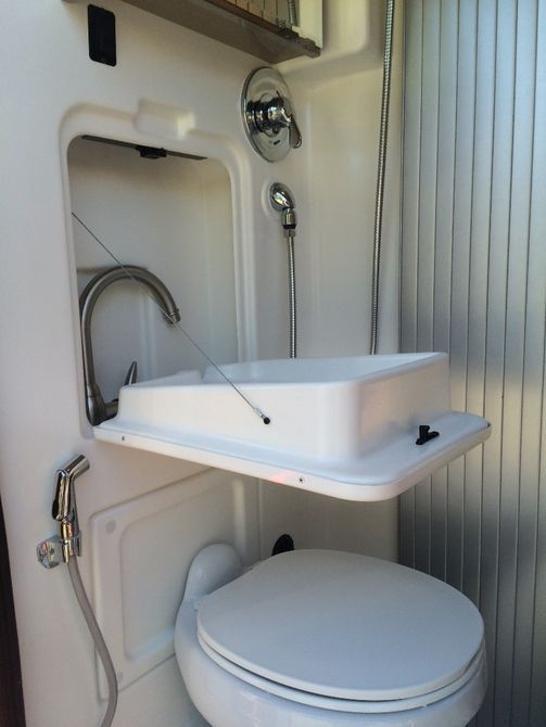 motorhome bathroom sink the travato 59k floor plan includes a rear bathroom with 13777