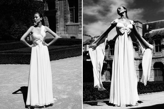 Fabulously French Ugo Zaldi Wedding Dresses | OMG I'm Getting Married UK Wedding Blog | UK Wedding Design and Inspiration for the fabulous and fashion forward bride to be.